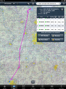Route from SET to OSH