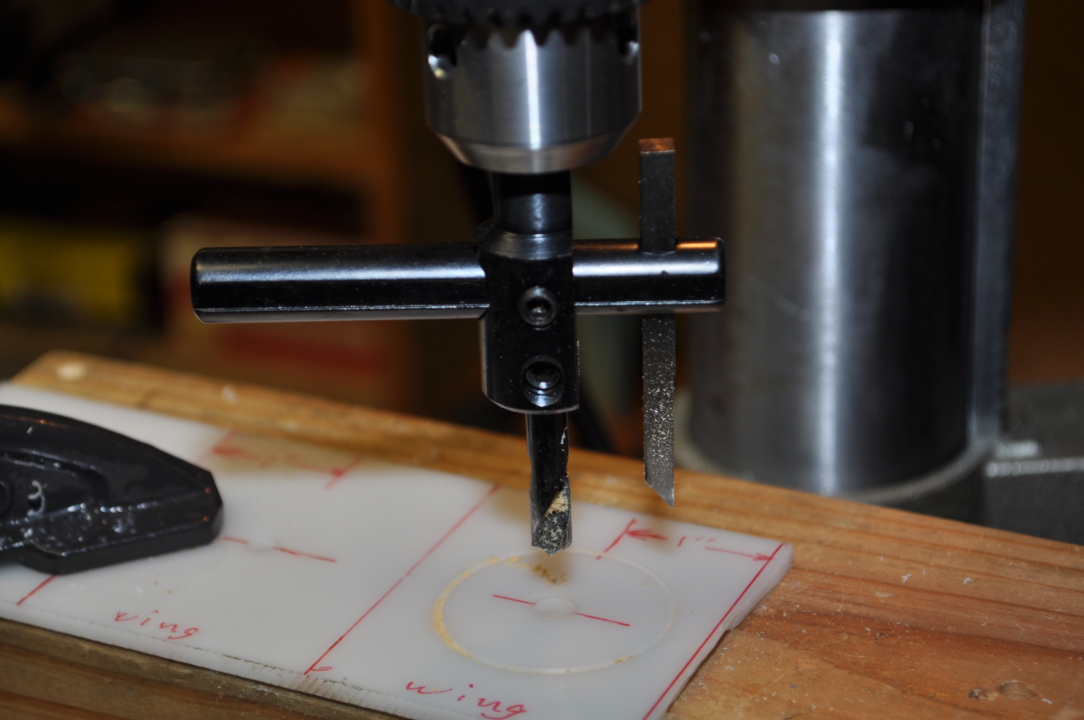 Circular hole cutter