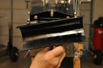 Bede BD-4C horizontal stabilator weldments