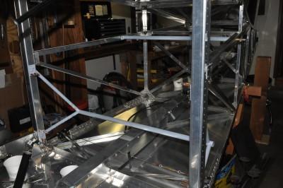 Bede BD-4C rear seat frame