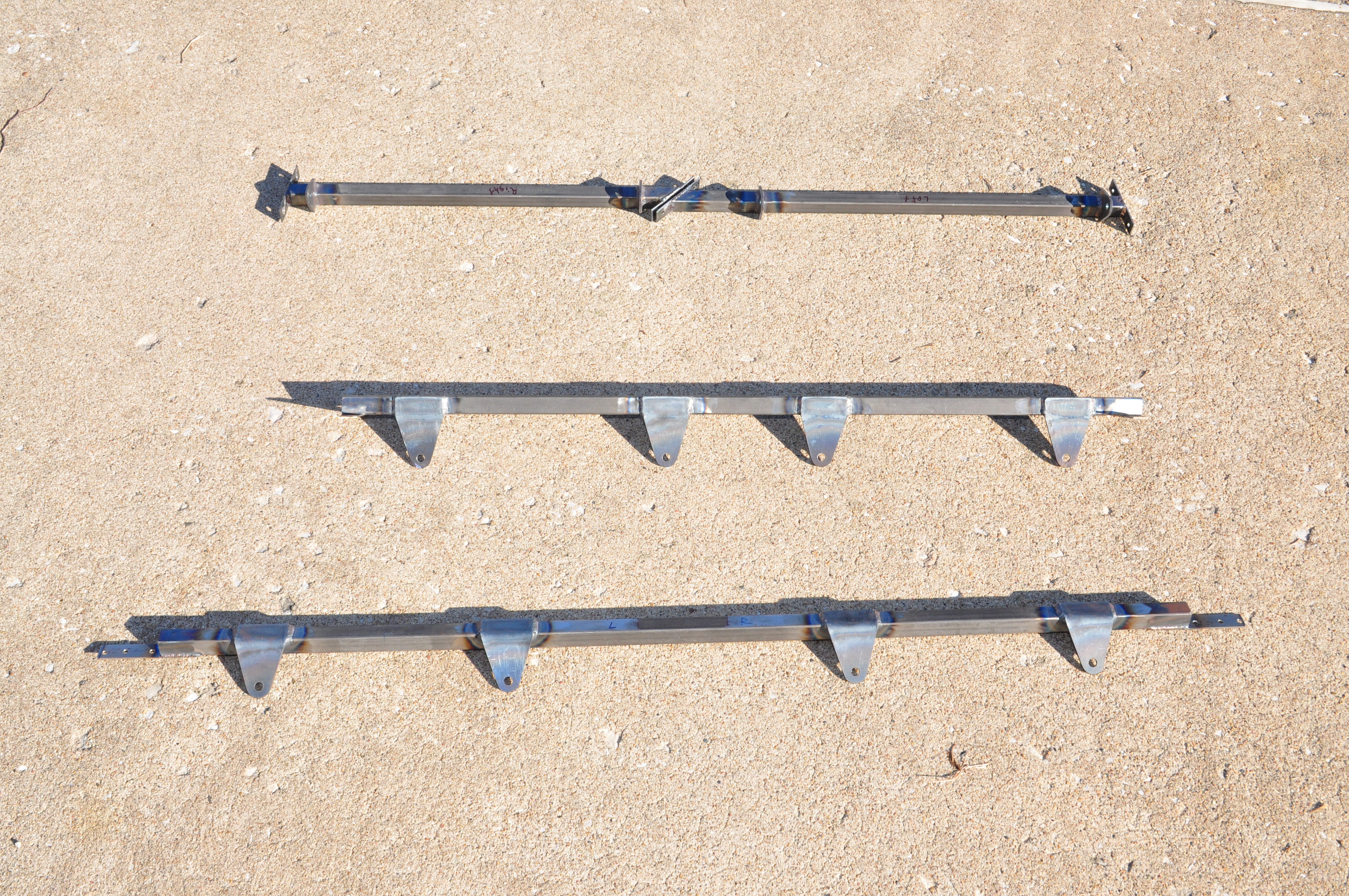 Bede BD-4C safety harness anchors