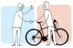 Lending a bicycle