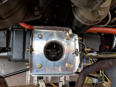 Custom air filter box for Lycoming IO-360 engine