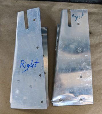 Flap end covers for a Bede BD-4C