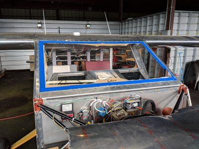 Bede BD-4C windshield